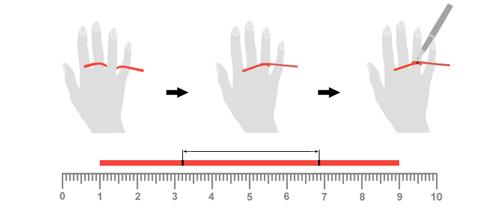 Размер колец